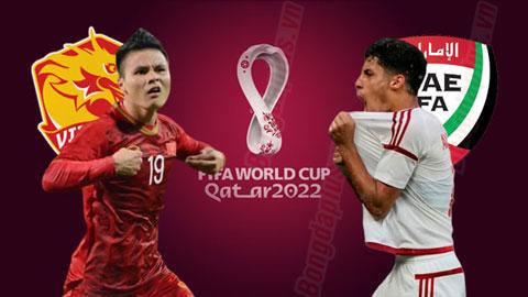 Việt Nam vs UAE, 20h00 ngày 14/11: Tiếp mạch thăng hoa