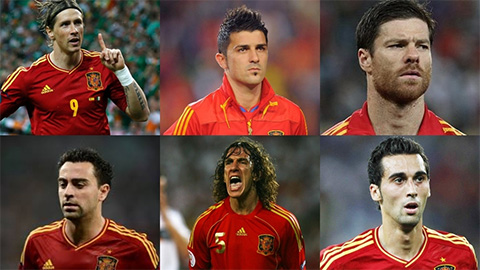 Sau David Villa, thế hệ vàng bóng đá Tây Ban Nha còn ai chưa lùi bước?