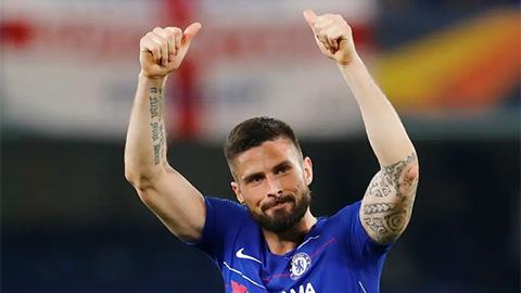 Giroud sẵn sàng rời Chelsea để tái hợp HLV Conte