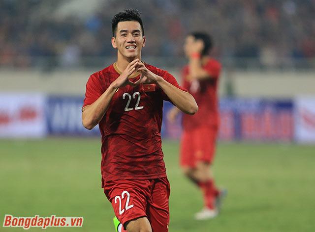Đây là bàn thắng thứ 2 trong 2 trận liên tiếp của Tiến Linh cho đội tuyển Việt Nam ở vòng loại World Cup 2022