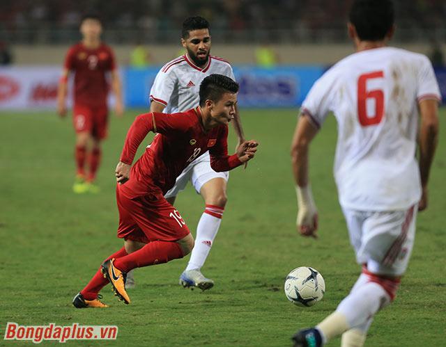 Đội tuyển Việt Nam đang đứng trước cơ hội lớn để tiếp tục cạnh tranh vị trí nhất bảng