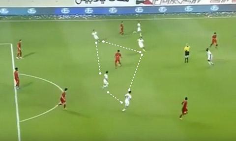 UAE gây sức ép với số đông ở giai đoạn cuối hiệp 2 trước Indonesia