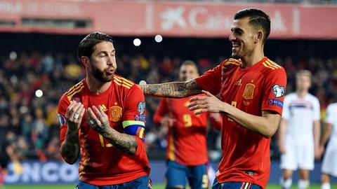 Tây Ban Nha đã có vé dự vòng chung kết EURO 2020