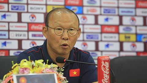 HLV Park Hang Seo: 'Tôi không bất ngờ khi Thái Lan thua Malaysia'