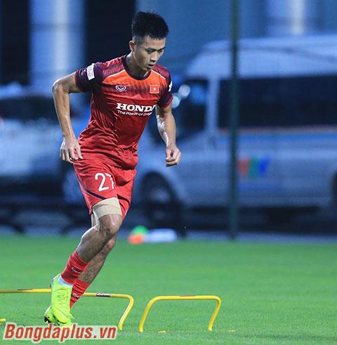 Hà Minh Tuấn sẽ có trận đấu đầu tiên trong màu áo của ĐT Việt Nam tối nay? - Ảnh: Đức Cường