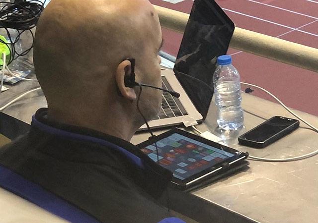 Những thiết bị hiện đại nhất được đội bóng Tây Á mang sang Việt Nam nhằm hỗ trợ tốt nhất cho HLV Van Marwijk trong việc chuẩn bị về chuyên môn
