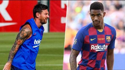 Sao trẻ Barca vào tầm ngắm Man City vì không hợp mắt Messi
