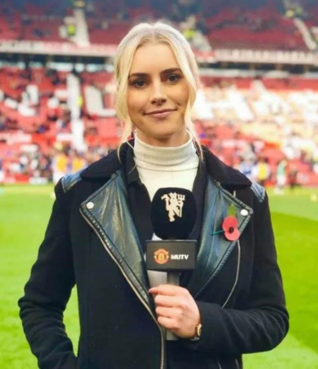 Ở trận M.U đánh bại Brighton với tỷ số 3-0 tại Ngoại hạng Anh vào cuối tuần trước, cô nàngKirsty Shelts đang tronggiai đoạn thử việc nhưng đã nhanh chóng gây được ấn tượng với CĐV.