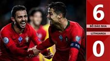 Bồ Đào Nha 6-0 Lithuania(Vòng loại Euro 2020)
