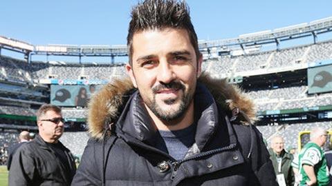 David Villa được tri ân