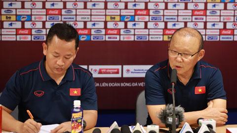 """HLV Park Hang Seo: """"Trận gặp Thái Lan quan trọng nhất với Việt Nam"""""""