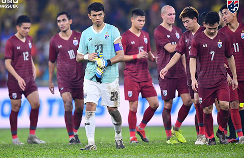 Thái Lan thất bại vì mắc sai lầm ở hàng thủ