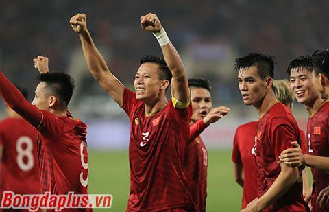Thêm một trận đấu mà hàng thủ Việt Nam không để thủng lưới - Ảnh: Phan Tùng