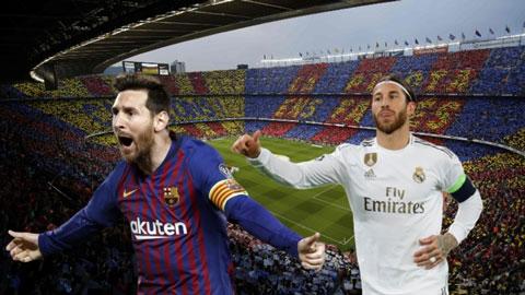 Barca có lợi hơn Real trước Siêu kinh điển