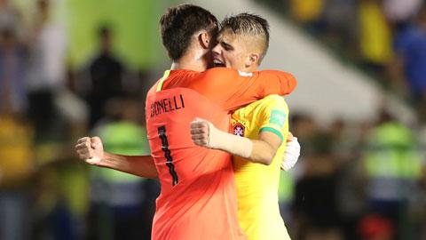 Lội ngược dòng thần kỳ, Brazil gặp Mexico ở chung kết U17 World Cup