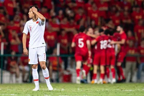 Trung Quốc đã bất ngờ để thua Syria 1-2 trên sân đối thủ