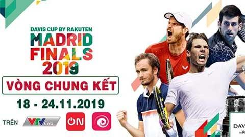 Thưởng thức Davis Cup phiên bản mới trên VTVcab
