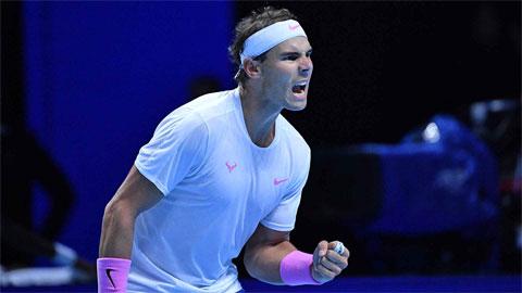 Nadal mất vé bán kết ATP Finals 2019