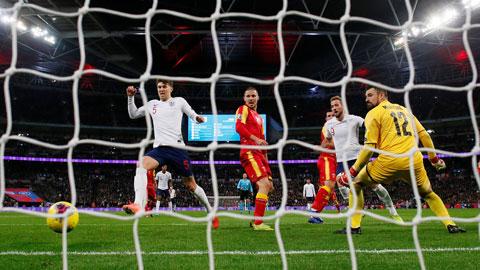 Anh vừa có chiến thắng hủy diệt 7-0 Montenegro