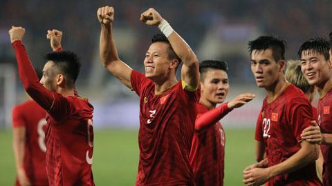 Niềm vui chiến thắng của ĐT Việt Nam