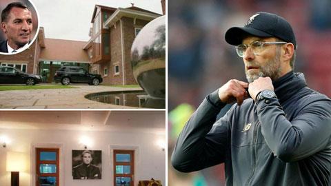 Liverpool mua đứt nhà của Rodgers cho Klopp ở