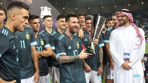 Cuối cùng Messi cũng có danh hiệu cùng ĐT Argentina