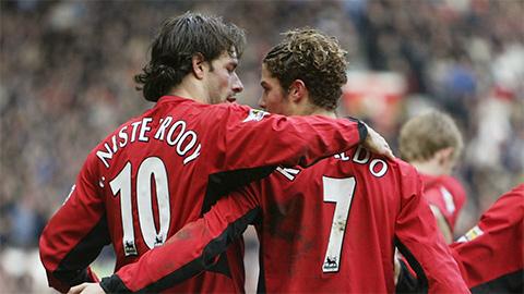 Ronaldo từng có vấn đề với Van Nistelrooy