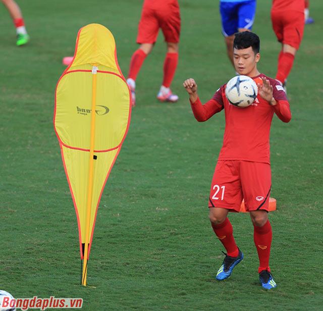 Thành Chung tích cực tập luyện