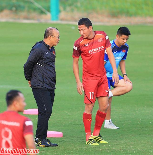 Anh Đức có thể là quân bài tẩy mà HLV Park Hang Seo để dành cho trận đấu với Thái Lan