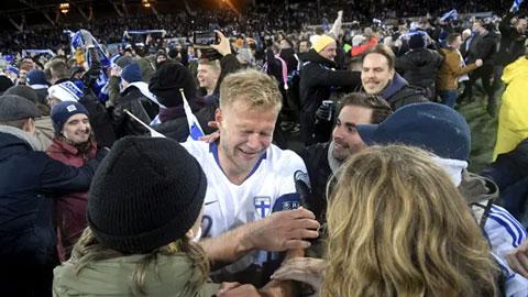 Pukki làm nên lịch sử cho bóng đá Phần Lan