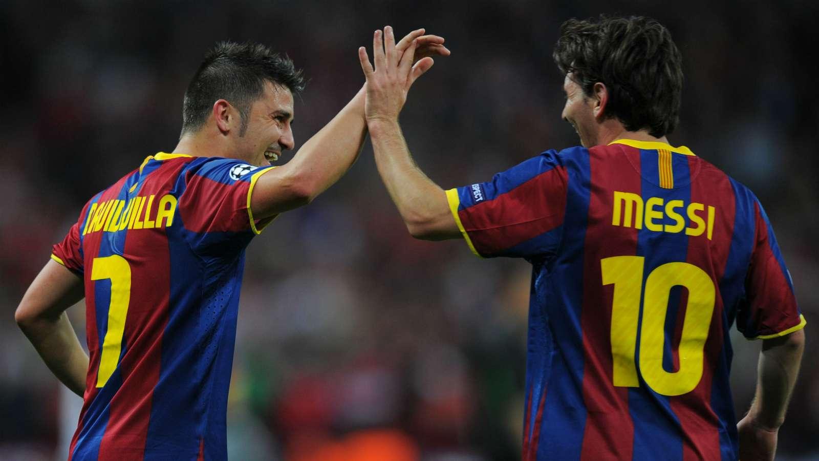 Villa và Messi từng tạo nên những năm tháng hoàng kim cho Barca