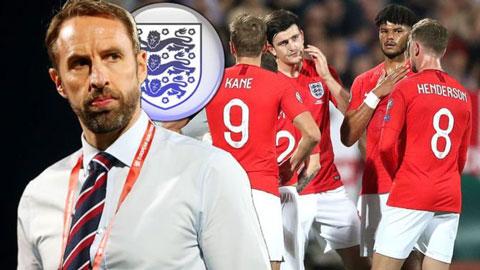 ĐT Anh có thể rơi vào bảng tử thần tại VCK EURO 2020