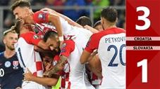 Croatia 3-1 Slovakia(Vòng loaỊ Euro 2020)