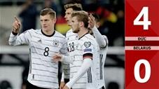 Đức 4-0 Belarus(Vòng loại Euro 2020)