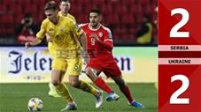 Serbia 2-2 Ukraine(Vòng loại Euro 2020)
