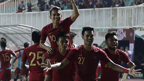 Quật ngã U22 Iran, U22 Indonesia gửi lời thách chiến U22 Việt Nam