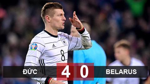 Đức 4-0 Belarus: Chủ nhà giành vé dự EURO 2020