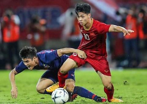 Đội tuyển Việt Nam muốn trả món nợ thua Thái Lan trên sân Mỹ Đình