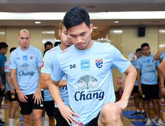Đến ngày 18/11, Thái Lan sẽ tập làm quen sân Mỹ Đình trước khi bước vào trận đấu với Việt Nam ngày 19/11.