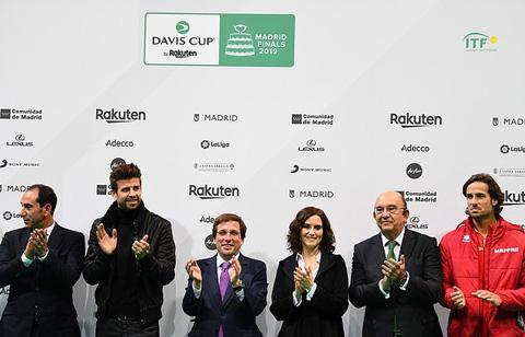 Pique nhận được sự hậu thuẫn từ nhiều nhà tài trợ để cải tổ Davis Cup