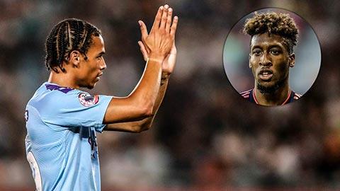 Man City tính đổi Sane lấy Coman của Bayern
