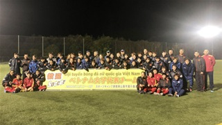 ĐT nữ Việt Nam tích cực tập luyện tại Nhật Bản