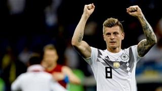 ĐT Đức: Ơn giời, Toni Kroos tỉnh lại rồi
