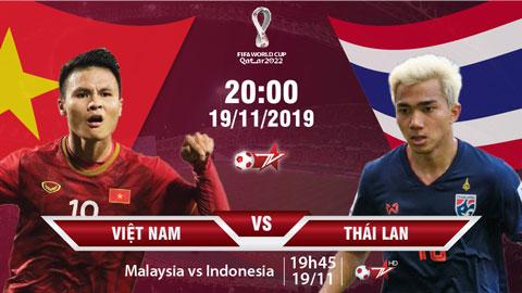 Xem trực tiếp Việt Nam vs Thái Lan trên VTVcab