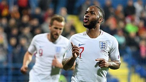 ĐT Anh lập hàng loạt kỷ lục đáng nhớ ở vòng loại EURO 2020
