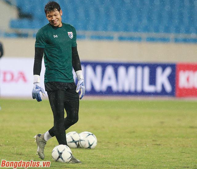 Thủ môn Kawin Thamsatchanan đã có kỷ niệm đẹp cách đây 4 năm trước khi Thái Lan thắng Việt Nam trên sân Mỹ Đình