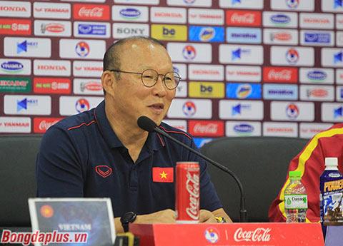 HLV Park Hang Seo đánh giá về Thái Lan - Ảnh: Phan Tùng