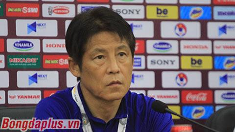 11h00 sáng nay, trực tiếp HLV Park Hang Seo, Akira Nishino trả lời họp báo