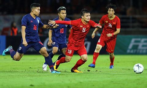 Đội tuyển Việt Nam đang có vị thế tốt hơn Thái Lan