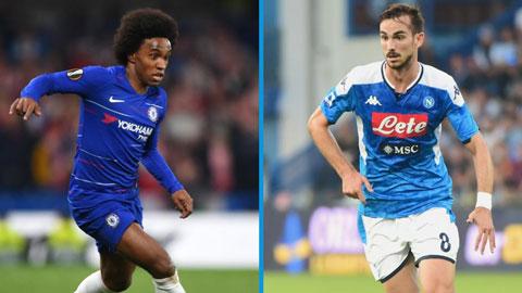 Fabian và Willian từ chối ký mới hợp đồng để chờ Barca